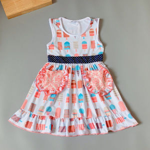 Other - Boutique Ice Cream Popsicle Ruffle Dress